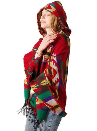 Crochet Boho/Warm/Skin-Friendly/Soft Scarf 1 PC