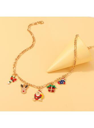 Jul Julen Santa Legering Halsband