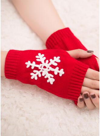 Solid Color/Christmas fashion/Comfortable/Christmas Gloves