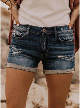 fickor Extra stor storlek Rev Mini Fritids Sexig Shorts