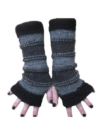 Solid Color/Retro/Vintage/Stitching simple/Breathable/Fingers Gloves