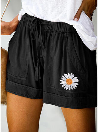 Floral Casual Shorts